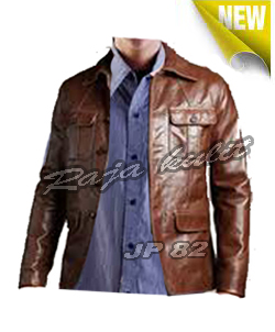 model-model jaket kulit
