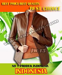jaket kulit asli wanita terbaru