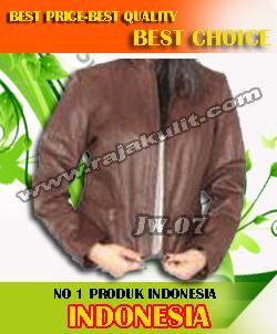 jaket kulit santai