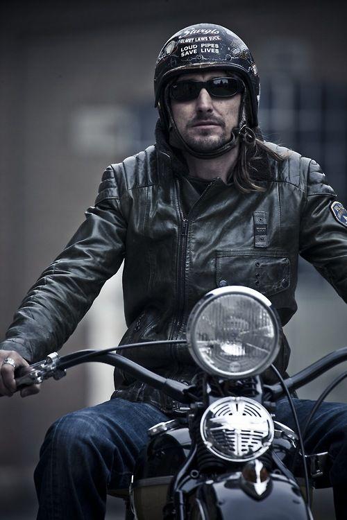 Rompi Jaket kulit motor pria dan wanita