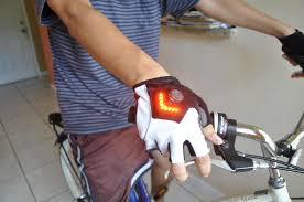 sarung tangan sepeda nyala safety