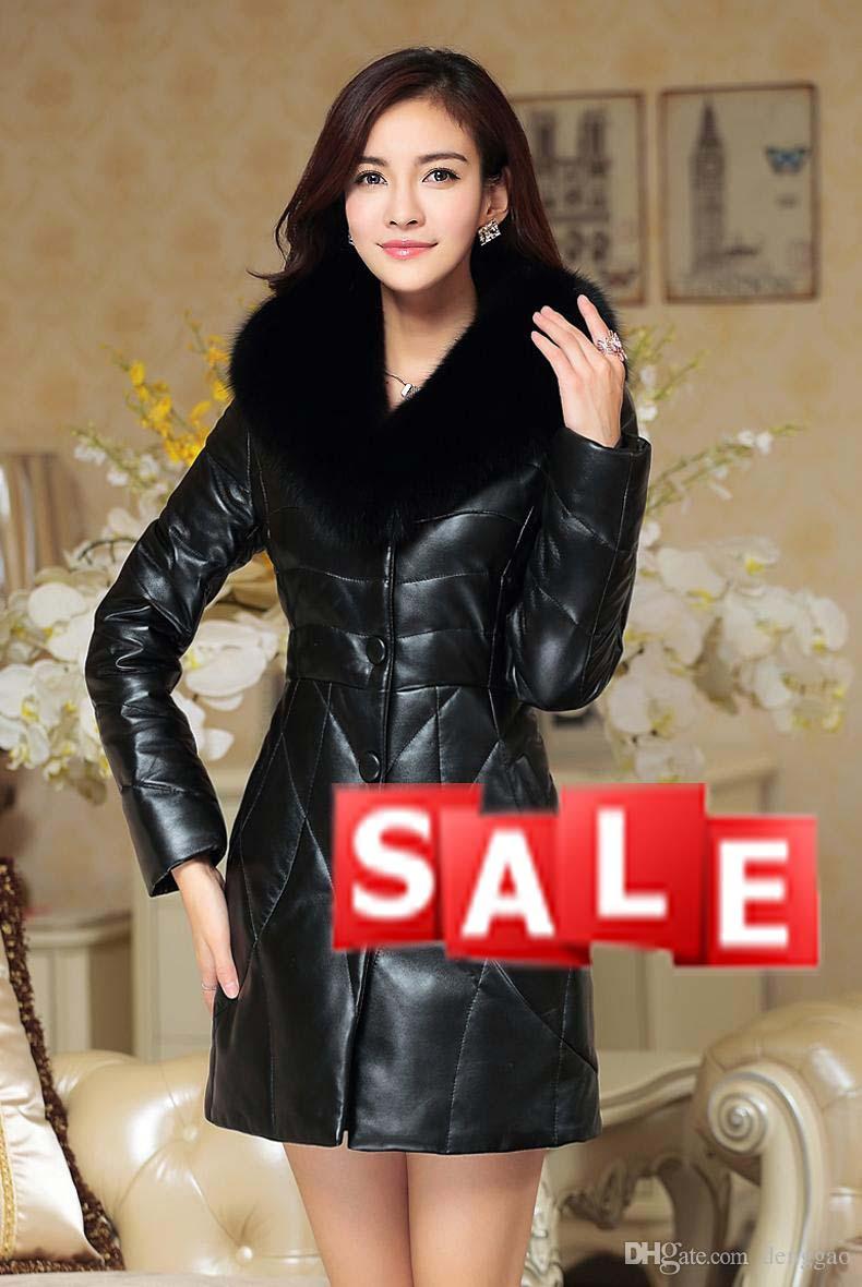 jaket kulit jubah wanita