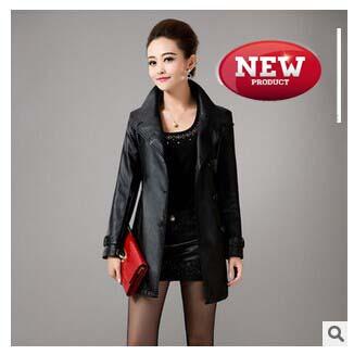 model jaket kulit jubah wanita