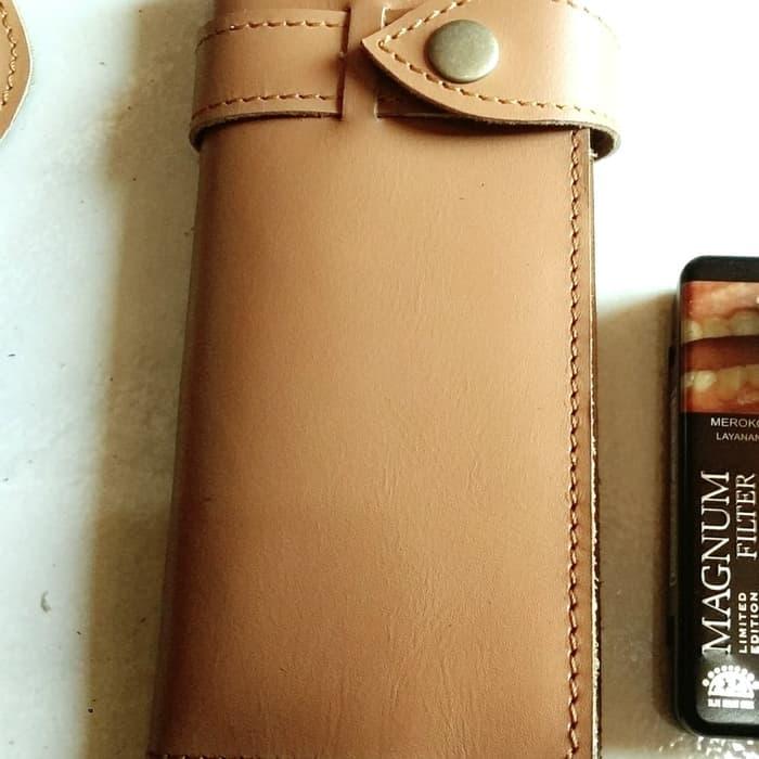pusat dompet kulit panjang