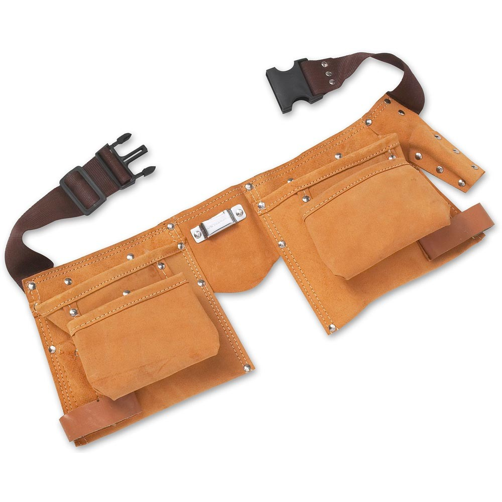 Double Leather Tool Pouch