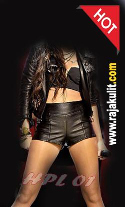 hot pants leather women