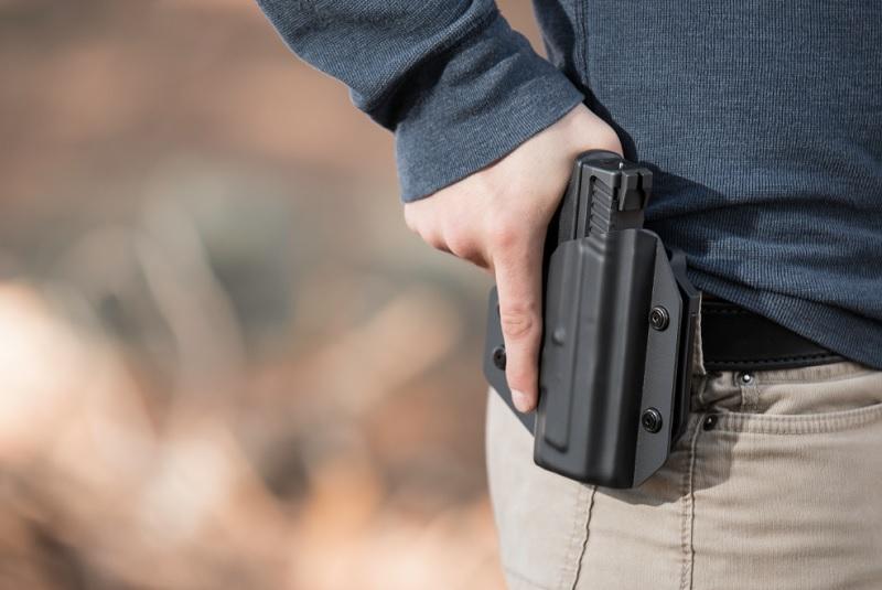 ikat pinggang pistol murah