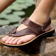 model-model sandal kulit terbaru