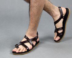 model sandal kulit terbaru murah