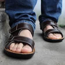 sandal keren trendy pria