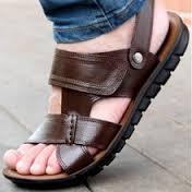 sandal kulit garut murah