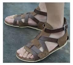sandal kulit terbaru