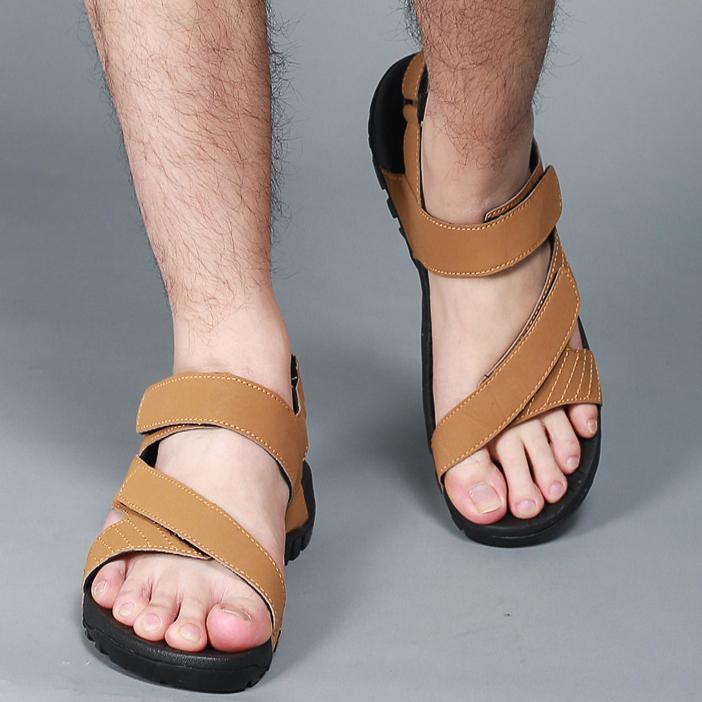 sandal terbaru kulit