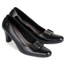 sepatu kulit premium wanita 563