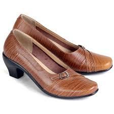 sepatu kulit premium wanita 568