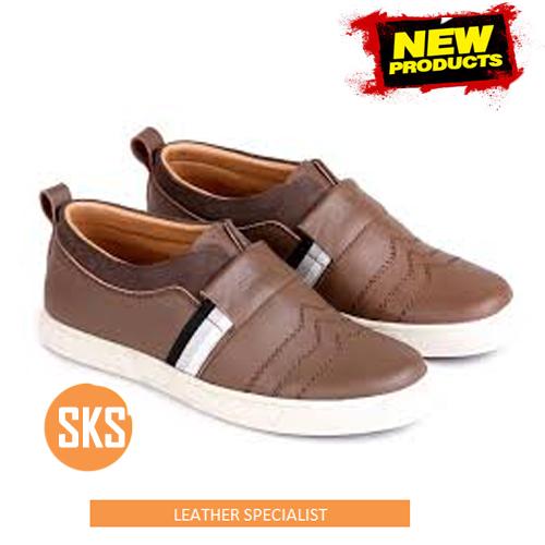 sepatu kulit santai SKS 099