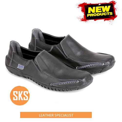 sepatu kulit santai SKS 100