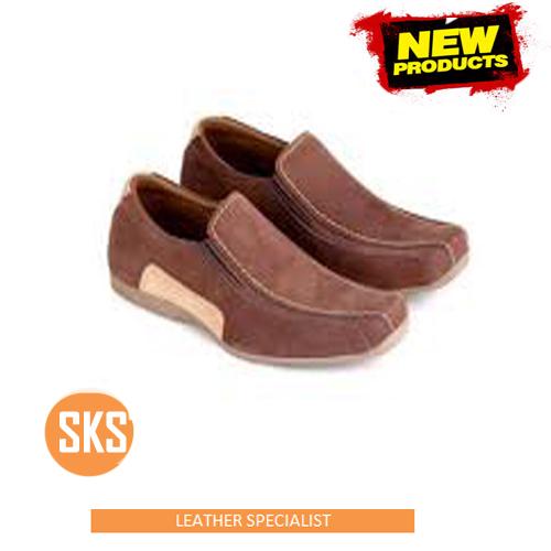 sepatu kulit santai SKS 104