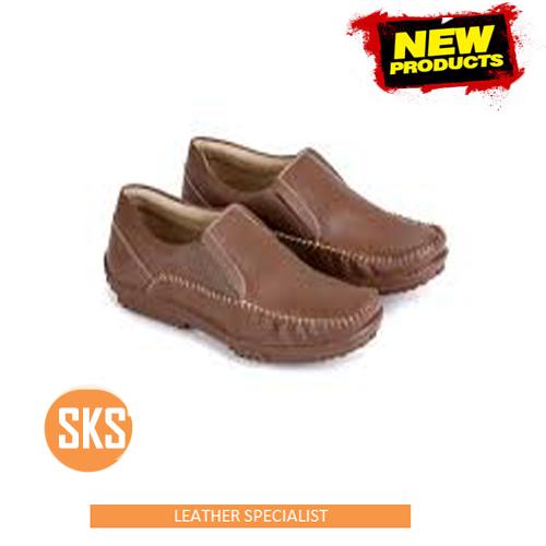 sepatu kulit santai SKS 107