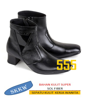 sepatu kulit wanita skkw 555