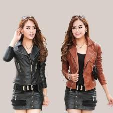 harga model jaket kulit wanita original leather