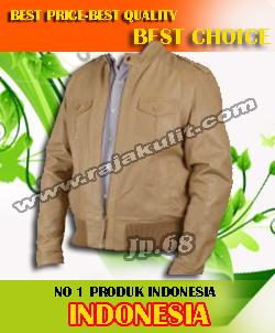 jaket kulit modern