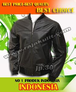 jaket kulit pria import
