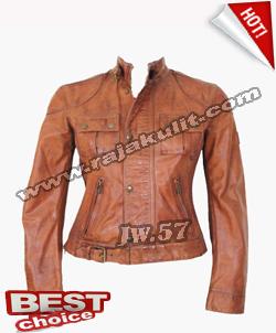 jaket kulit rocker