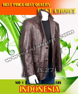 model jaket kulit terbaru pria