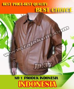 pengrajin jaket kulit di garut