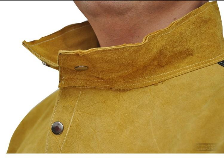 split leather jackets untuk pelindung las