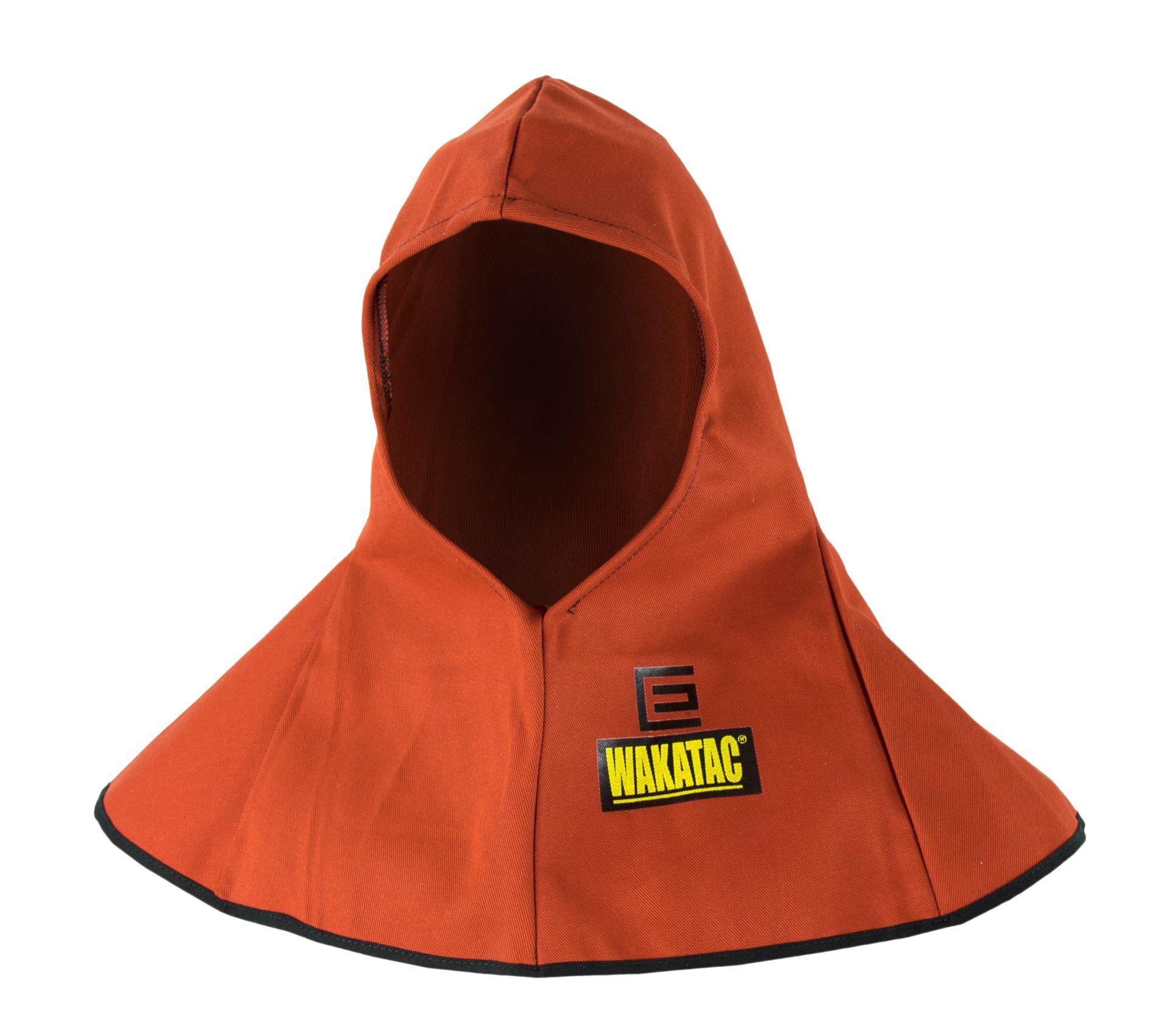 Pelindung kepala welding Hood kulit