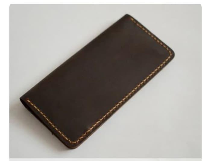 dompet panjang pria kulit produksi raja kulit